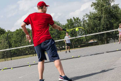 Playing tennis is always a good idea
