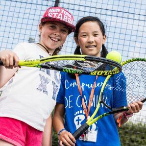 Moulton tennis courts