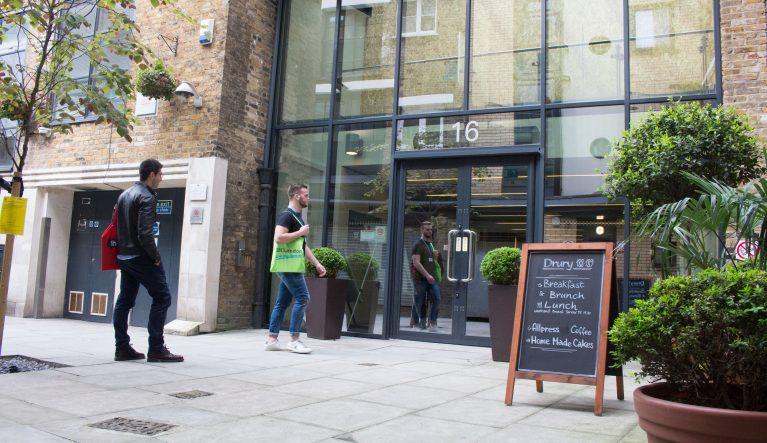 IH London school entrance